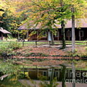 The Commissioners Cabin In Autumn Art Print