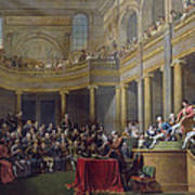 The Committee Of Lyon, 26th January 1802, 1808 Oil On Canvas Art Print