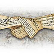 The Constitution Art Print
