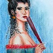 The Contessa Art Print