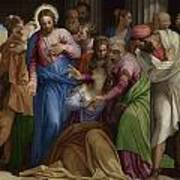The Conversion Of Mary Magdalene Art Print