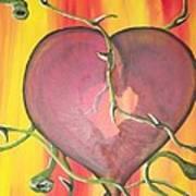 The Core Of My Heart Art Print