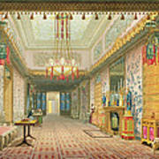 The Corridor Or Long Gallery Art Print