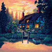 The Cottage Art Print
