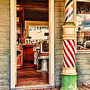 The Country Barber Art Print