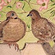 The Courtship Art Print