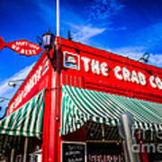 The Crab Cooker Newport Beach Photo Art Print