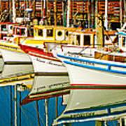 The Crab Fleet Art Print