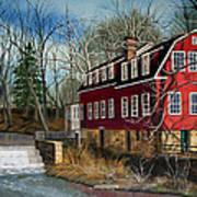 The Cranford Mill Art Print