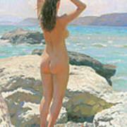 The Crimea. The Lisya Bay 2012 Art Print