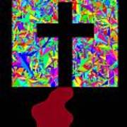 The Cross In Fauvism Art Print
