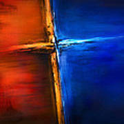 The Cross Art Print by Shevon Johnson