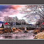 The Crossing II Brenton Woods Nh Art Print