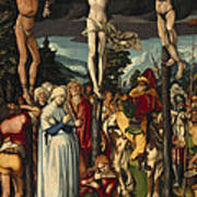 The Crucifixion Of Christ Art Print