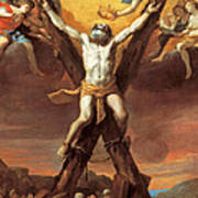 The Crucifixion Of St Andrew Art Print