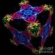 The Cube 4 Art Print