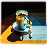The Cup Of Black Coffee 1 Art Print