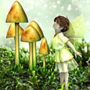 The Curious Fairy Art Print