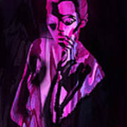 The Cyber Woman Art Print