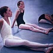 The Dance Class Art Print by James Welch