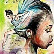 The Dancer In Me Art Print