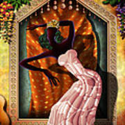 The Dancer V1 Art Print