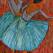 The Dancers Print by John Giardina
