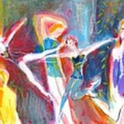 The Dancers Art Print