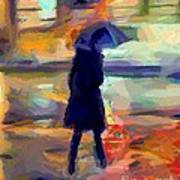 The Day For An Umbrella Art Print