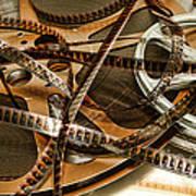 The Days Of Film Art Print