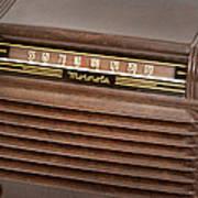 The Days Of Radio Art Print