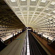 The D.c. Metro Art Print