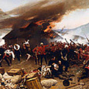 The Defence Of Rorke's Drift 1879 Art Print