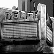 The Delft Marquette Mi Art Print