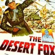 The Desert Fox, Aka The Desert Fox The Art Print