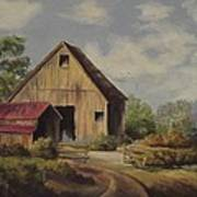 The Deserted Barn Art Print