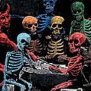 The Devil And Friends Art Print