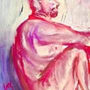 The Devil Meditates Art Print