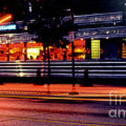 The Diner On Sycamore Art Print