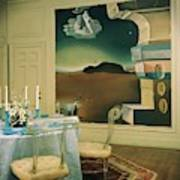 The Dining Room Of Princess Gourielli Art Print