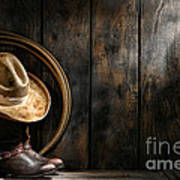 The Dirty Hat Art Print