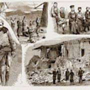 The Disastrous Earthquake In Anatolia, Asia Minor Art Print