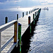 The Dock Of The Bay Art Print