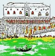 The Doge's Palace Art Print