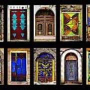 The Doors Of Yemen Art Print