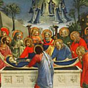 The Dormition Of The Virgin Art Print