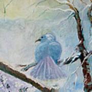 The Dove Art Print by Susan Hanlon