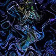 The Dragon Behind The Mask  Art Print