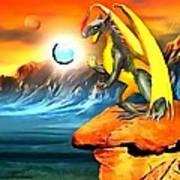 The Dragon Lands Art Print