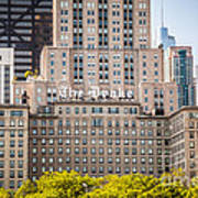 The Drake Hotel In Downtown Chicago Art Print
